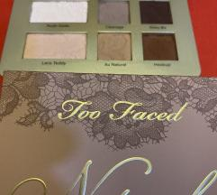 Too Faced natural matte paleta sjenila