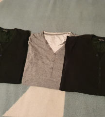 Muške majice Pull&Bear i Bershka