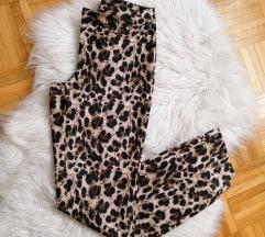 Hlače leopard  nove