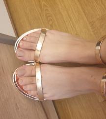 Asos sandale rose gold