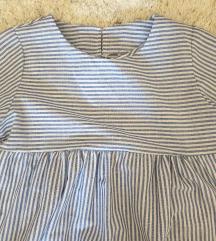 Lagana plavo-bijela haljina