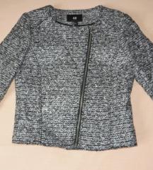 Nova H&M crno-bijela jakna / sako - %