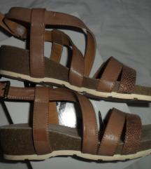 Sandale Borovo prava koža 38