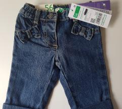 Benetton jeans za djevojcice (56, sa pt)
