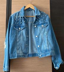 SNIŽENJE Stradivarius jeans jakna