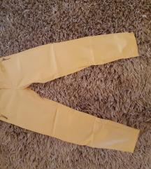 Žute ženske hlače