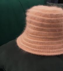 Sesir vuneni, roza boje