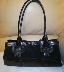 furla crna kozna torba original
