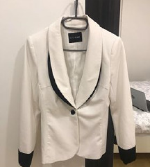 Bijelo - crni sako