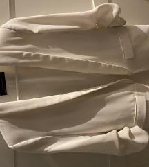 Zara sako 3/4 rukavi bijeli