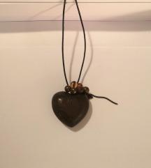 Ogrlica / lančić sa srcem