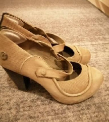svjetle kožne cipele