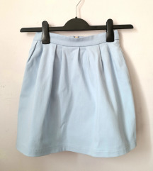 Plava Stradivarius suknja