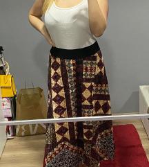 Pliš suknja novo talijanska