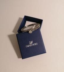 SWAROVSKI srebrna svečana narukvica