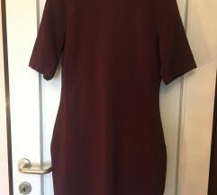 Bordo H&M haljina