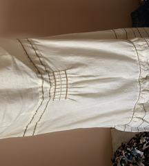 Lanena haljina Mango