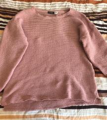 Roza majica dugih rukava