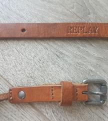 Replay remen prava koža