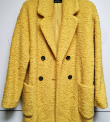 Jarko žuti kratki kaput