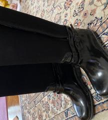 Zara crne gumene čizme za djevojčice 28-29