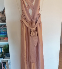 Roza multiway haljina