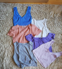 Lot crop-top majica 🌞