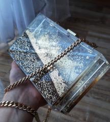 Zara prozirna torbica