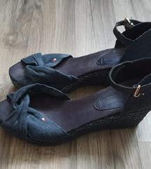 Tommy Hilfiger plave sandale