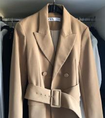 NOVO Zara popularna sako haljina