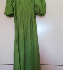 Zara haljina s puf rukavima NOVO+pokloni