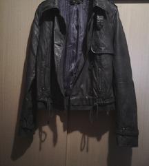 Zara kožna jakna L
