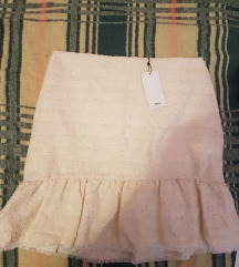 suknja krem