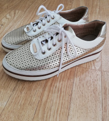 Nina Ricci zlatne cipele