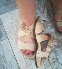Sandale niske koza