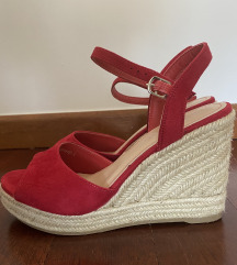 Špagerice Sandale Crvene, kao nove