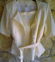 Odijelo set sa popularnim pojasom u struku