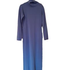 Benetton ljubičasta haljina