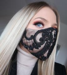 Čipkasta maska