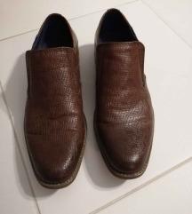 Smeđe muške cipele