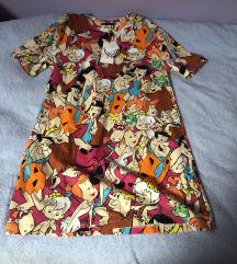 Flinstones mini haljina t shirt S