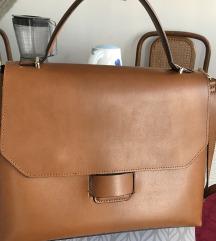 Zara torba boje konjaka