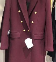 Zara kaput s etiketom M