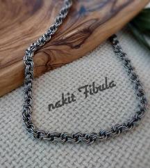 Unisex ogrlica od nehrđajućeg čelika