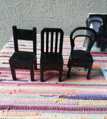 Ikea stolice/vješalice za odjeću, novo!