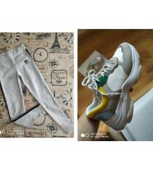 Tenisice like Balenciaga (br.38)+Adidas tajice L