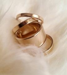 ZARA zlatno prstenje
