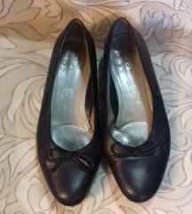 Crne cipele s mašnom/balerinke ARA 39