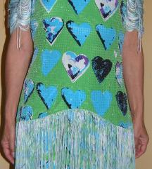 haljina sa resicama