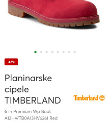 Original Timberland 40 br.